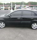 kia rio5 2007 black hatchback sx gasoline 4 cylinders front wheel drive automatic 75901