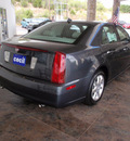 cadillac sts 2011 gray sedan v6 luxury gasoline 6 cylinders automatic 78028