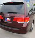 honda odyssey 2010 dk  red van ex l gasoline 6 cylinders front wheel drive automatic 75034