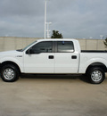 ford f 150 2011 white xl flex fuel 6 cylinders 2 wheel drive automatic 76108