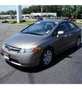 honda civic 2008 galaxy grey sedan lx gasoline 4 cylinders front wheel drive 5 speed automatic 07724