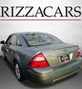 ford five hundred 2005 green sedan sel gasoline 6 cylinders front wheel drive automatic with overdrive 60546
