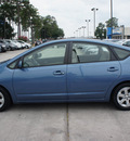 toyota prius 2005 lt  blue hatchback hybrid 4 cylinders front wheel drive automatic 77339