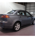 mitsubishi lancer 2009 gray sedan es gasoline 4 cylinders front wheel drive not specified 77471