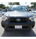 toyota tacoma 2012 gray base gasoline 4 cylinders 2 wheel drive automatic 78006