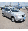 chevrolet aveo 2010 silver sedan lt gasoline 4 cylinders front wheel drive automatic 78539