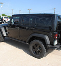jeep wrangler unlimited 2012 black suv rubicon mw3 gasoline 6 cylinders 4 wheel drive automatic 76011