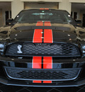 ford shelby gt500 2012 black coupe gasoline 8 cylinders rear wheel drive 6 speed manual 76011