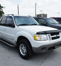 ford explorer sport trac 2001 off white suv gasoline 6 cylinders rear wheel drive automatic 75062
