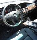 bmw 528i 2008 silver sedan gasoline 6 cylinders rear wheel drive automatic 79925