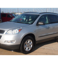 chevrolet traverse 2010 silver suv ls gasoline 6 cylinders front wheel drive automatic with overdrive 77340
