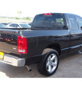 dodge ram pickup 1500 2006 black pickup truck slt gasoline 8 cylinders rear wheel drive automatic with overdrive 77340