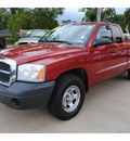 dodge dakota 2006 red st gasoline 6 cylinders rear wheel drive automatic with overdrive 77515