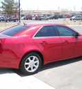 cadillac cts 2008 red sedan gasoline 6 cylinders rear wheel drive automatic 79925