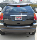 chrysler pacifica 2006 black suv touring gasoline 6 cylinders front wheel drive shiftable automatic 77469