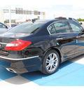 hyundai genesis 2012 blk noir pearl sedan gasoline 6 cylinders rear wheel drive autostick 77094