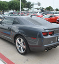 chevrolet camaro 2011 dk  gray coupe lt gasoline 6 cylinders rear wheel drive automatic 75067