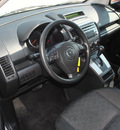 mazda mazda5 2008 gray van sport gasoline 4 cylinders front wheel drive automatic 75067