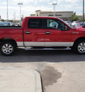 ford f 150 2010 red gasoline 8 cylinders 2 wheel drive automatic 79922