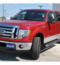 ford f 150 2011 red xlt gasoline 6 cylinders 4 wheel drive automatic 78861
