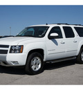 chevrolet suburban 2012 white suv lt 1500 flex fuel 8 cylinders 4 wheel drive automatic 78216