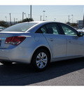 chevrolet cruze 2012 silver sedan ls gasoline 4 cylinders front wheel drive automatic 78216