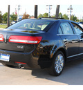 lincoln mkz 2012 black sedan gasoline 6 cylinders front wheel drive automatic 77373