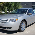 lincoln mkz 2012 silver sedan gasoline 6 cylinders front wheel drive 5 speed automatic 77373