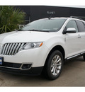 lincoln mkx 2012 white suv gasoline 6 cylinders front wheel drive 6 speed automatic 77373