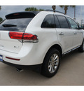 lincoln mkx 2012 wht plat met tc suv gasoline 6 cylinders front wheel drive 6 speed automatic 77373
