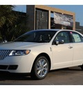 lincoln mkz 2012 wht plt tct met sedan gasoline 6 cylinders front wheel drive 5 speed automatic 77373