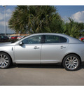 lincoln mks 2012 silver sedan 6 cylinders front wheel drive 6 speed automatic 77373
