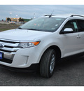 ford edge 2012 white sel gasoline 6 cylinders front wheel drive automatic 78861