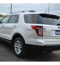 ford explorer 2012 white suv xlt gasoline 6 cylinders 2 wheel drive automatic 78861