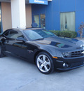 chevrolet camaro 2010 black coupe ss gasoline 8 cylinders rear wheel drive automatic 79922