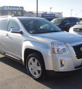 gmc terrain 2010 silver suv slt 1 gasoline 4 cylinders front wheel drive automatic 79922