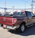 ford f 150 2009 maroon styleside gasoline 8 cylinders 2 wheel drive automatic 79936