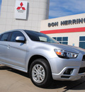 mitsubishi outlander sport 2012 silver suv es gasoline 4 cylinders front wheel drive automatic 75062