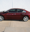 nissan maxima 2012 dk  red sedan 3 5 sv gasoline 6 cylinders front wheel drive shiftable automatic 75150