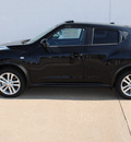 nissan juke 2012 black sl gasoline 4 cylinders all whee drive cont  variable trans  75150
