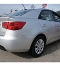 kia forte 2012 silver sedan ex gasoline 4 cylinders front wheel drive 6 speed automatic 77034