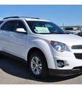 chevrolet equinox 2012 white lt flex fuel 4 cylinders front wheel drive automatic 78216