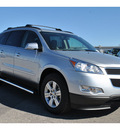 chevrolet traverse 2012 silver lt gasoline 6 cylinders front wheel drive automatic 78216