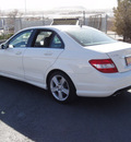 mercedes benz c300 2010 white sedan gasoline 6 cylinders rear wheel drive automatic 79922