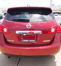 nissan rogue 2012 nah cayene red s gasoline 4 cylinders front wheel drive cont  variable trans  75150
