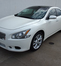 nissan maxima 2012 qx3 wintr frost sedan 3 5 sv gasoline 6 cylinders front wheel drive cont  variable trans  75150