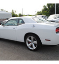 dodge challenger 2012 white coupe gasoline 8 cylinders rear wheel drive automatic 77017