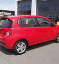 chevrolet aveo 2011 red hatchback aveo5 lt gasoline 4 cylinders front wheel drive automatic 79922