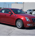 cadillac cts 2012 red sedan 3 6l premium gasoline 6 cylinders rear wheel drive automatic 77074