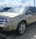 ford edge 2012 gold sel gasoline 4 cylinders front wheel drive automatic 77578